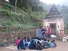 Village in Panchkhel 65 km from Kathmandu on 25 Nov