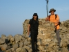 Mukesh Bhatt and Mukesh Shah - summit of Scafell Pike